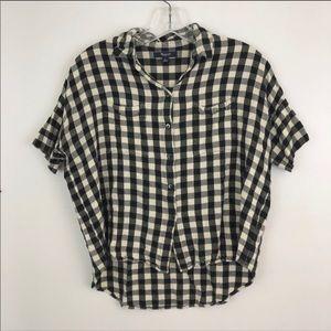 Madewell buffalo check/ plaid/ gingham shirt